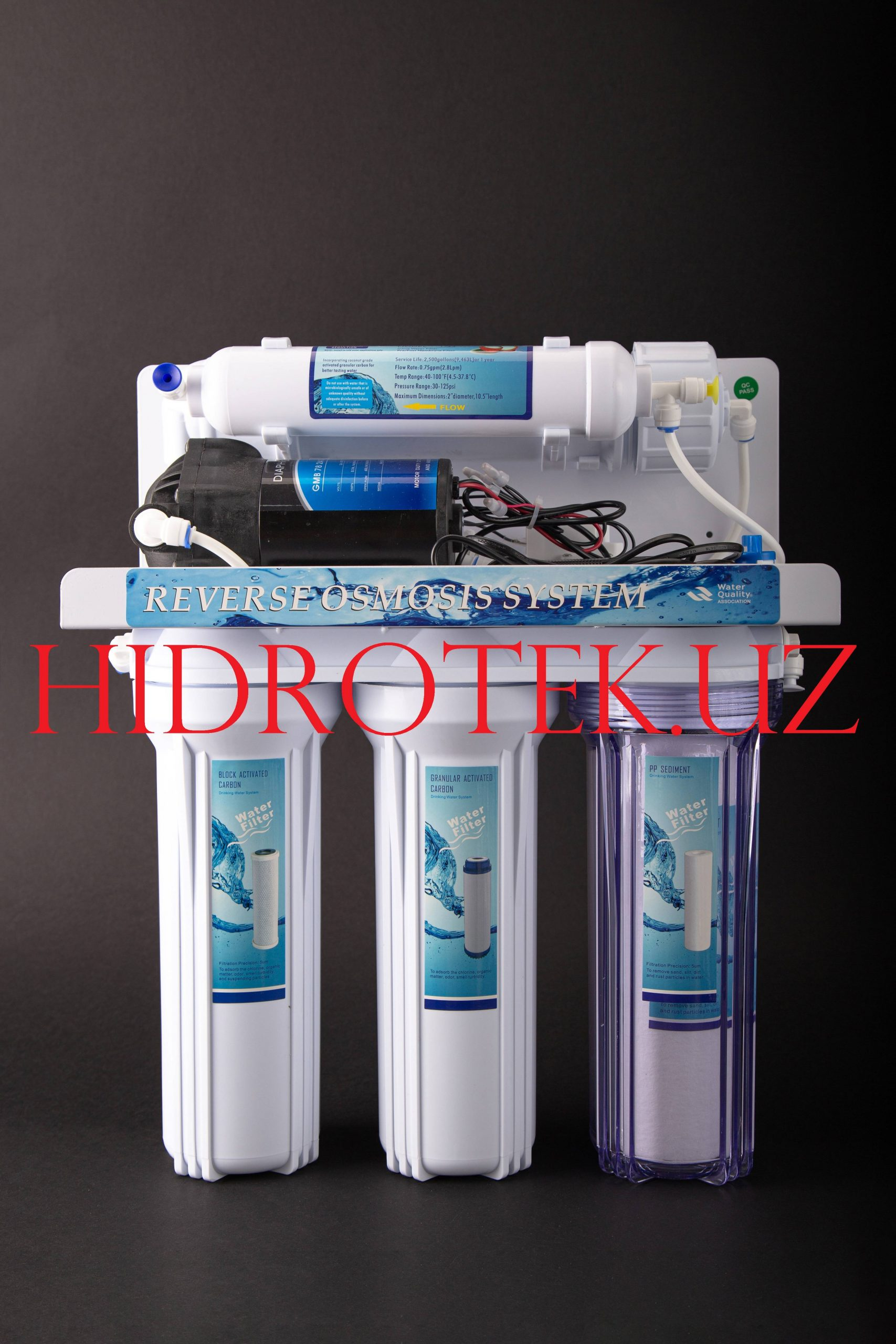 5-и ступенчатый фильтр для воды обратный осмос RO-А01-50G
