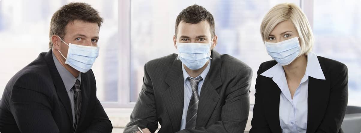 Соблюдаем все санитарные нормы и требования