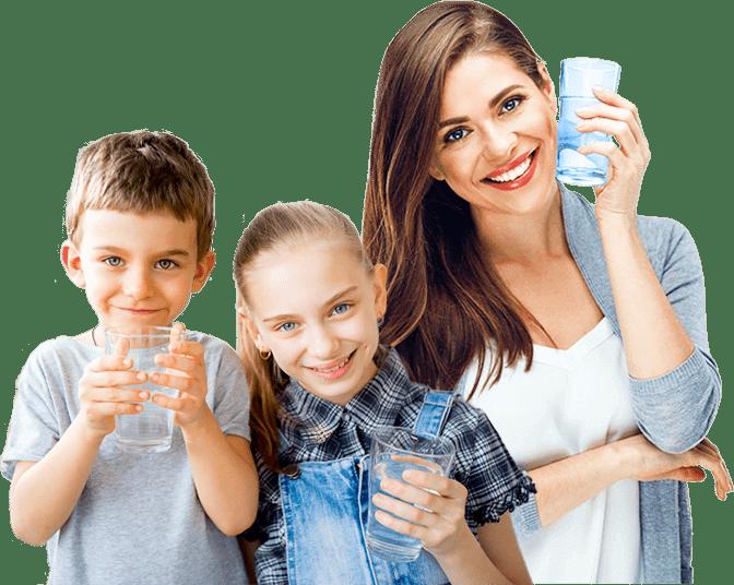 Безупречно чистая вода для вашей семьи