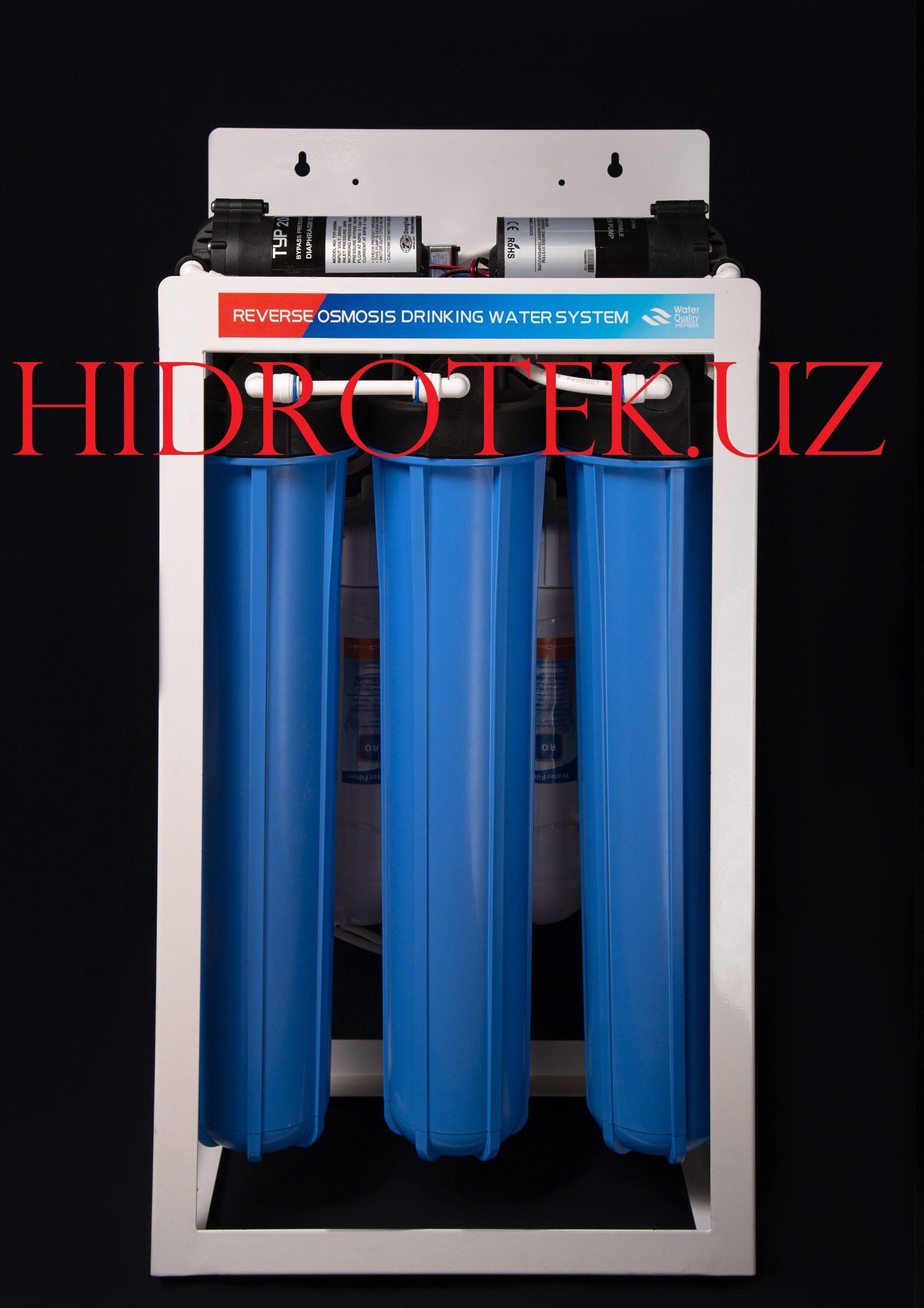 5-и ступенчатый фильтр для воды обратный осмос 90 л/час RO-600G-D01