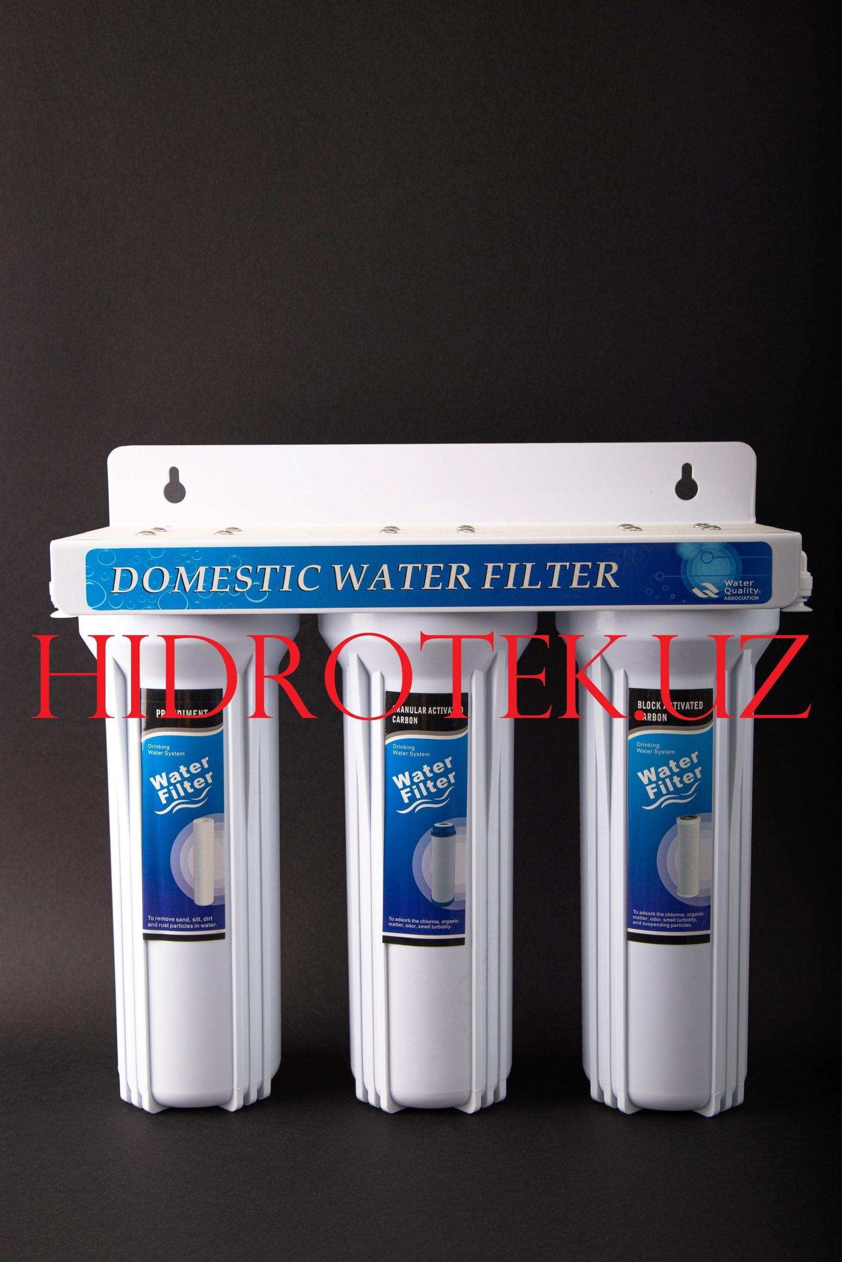 3-х ступенчатый бытовой фильтр US-3